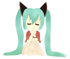 Bad End Night            Miku chibi by Geellick