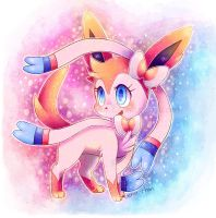 . : Ninfia/Sylveon : . by GenyStar