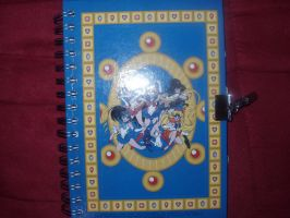 Sailor Moon Flipside book B by KittyChanBB