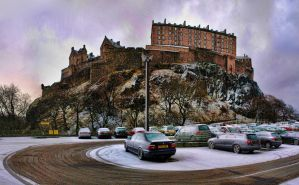 Edinburgh Snow by 100-days