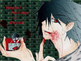 Beyond Birthday and Lawliet by ImoExploder007