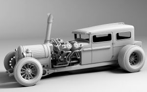 Steam Hotrod by Aci-RoY