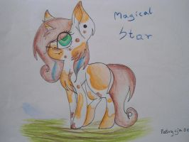 MLP FIM Adopts-Magical Star (Closed) by Patrycja0110