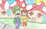 Daisy + Luigi by Spo-Mar-Ani07