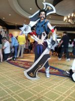 Not Draven...DRAAAAAAVEN. by LadyOfTheCloth