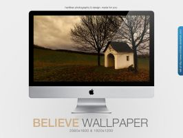 Believe Wallpaper by MrFolder