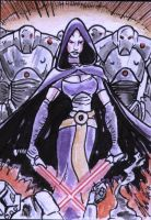Asajj Ventress and her army by shinlyle
