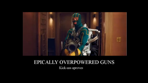 Epically overpowered guns by gsomv