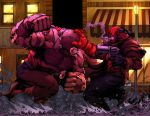Juggernaut Vs Hellboy By Sketch515a by deffectx
