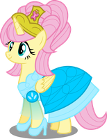 Princess Fluttershy by AtomicMillennial