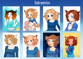 Style exercice Meme by Little-Roisin