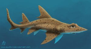 Spotted Gully Shark by ALA1N-J
