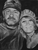Steve and Shell.. by candysamuels
