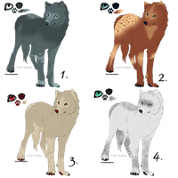 -CLOSED- POINTS ADOPTABLES (EDIT!) by lifeisdebubbles