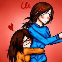 I Know She Hates Hugs-HB sis! by Anorha-Nono