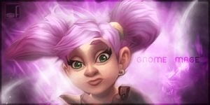 new gnome-model World of Warcraft- signature by Serendiadotde