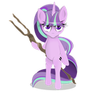 starlight glimmer ready to fight. by Coltsteelstallion