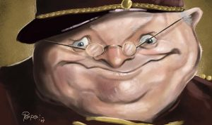Benny Hill by Parpa