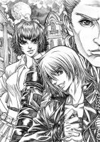DEVIL MAY CRY 3 lineart by Clearmirror-StillH2O