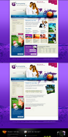 website template by webdesigner1921