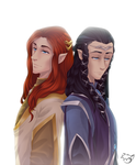 .: Heirs of Finwe :. by PinselTheExperiment
