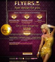 flyers website by naranch