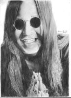 Ozzy Osbourne by forest-of-fire