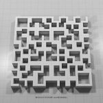 Permutation 009 negativ of permutation 008 by monochromeandminimal
