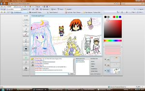 Paintchatting by Sgt-Bio