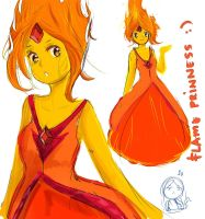 Flame Princess doodles by akosijre1