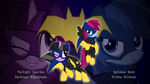 Team Batmare II (wallpaper) by Joeycrick