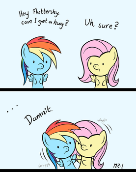 Hugs Can Be Awkward by MR-1