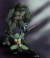 TMNT: Slash and Venus by Ty-Chou