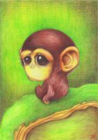 Monkey 2 by Leuseni