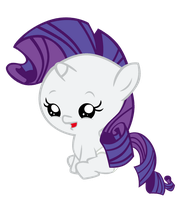 Baby Rarity by Bronyboy