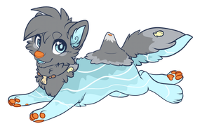 Waterdog up for trade by Maonii