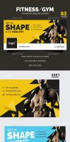 Fitness / Gym Facebook Timeline Covers by webduckdesign