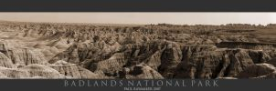Badlands Pano by Raymaker