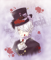 The Bloodstained Hatter by amashimono