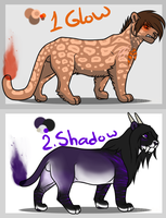 100 Themes Adoptables 1-2 :Closed!: by ViolaAdopts