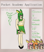 Pocket Academy Application - Winifred Morris by AdorableEvil29