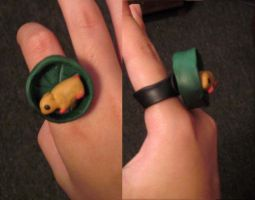 Spinning Hamster Ring by whatonearth
