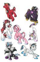 Ponies_8D by Morgween