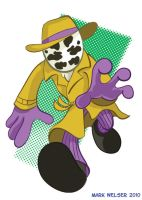 Chibi Rorschach by markwelser