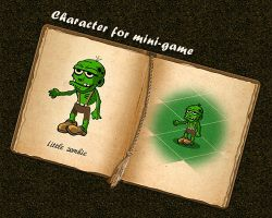 Zombie for mini-game by Vadich
