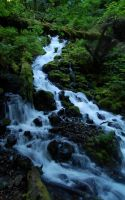 Wahkeena Springs, Oregon by xSiorcanna