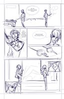 Comic Layout - Fencing with Kell and Rhy by victoria-ying