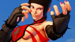 Juri Legacy Costume By BrutalAce by BrutalAce