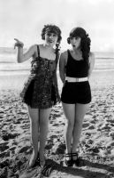 Elsie Tarron and Thelma Hill, Late 1910's by NJDVINTAGE