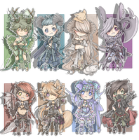 Ultimate Fantasy Adopts - Closed by Decora-Adopts